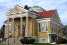 Greensburg / Historic buildings in Greensburg, Indiana.