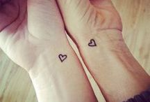 Mother and Daughter wrist tattoo