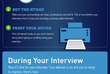Video Interview Tips / Don't know how to handle a video interview?  Click here for some informational tips!