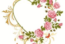 Ribbon embroidery pattern