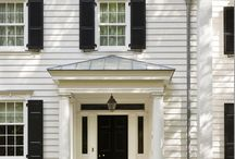 House // HH Colonial exterior