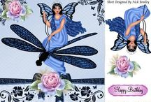 Kay Bowley card kits / Card kits, papers and decoupage papers for card making