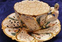 Tazas y teteras antiguas / Antique Tea Cups