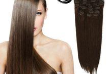 hajhosszabbítás csattal