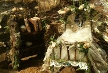 Fairy house furniture by Jane Chapman