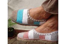 crotchet shoes