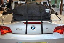 BMW Z4 Gepäckträger : Koffer & Gepäckträger kombiniert / BMW Z4 Gepäckträger : Koffer & Gepäckträger kombiniert