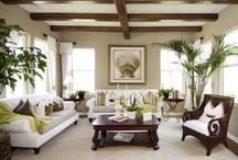 HOME:  living room / by Kelly Street