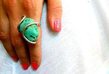 handmade jewelry - Dia xeiros Kamari