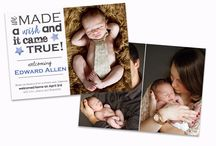 Birth Announcements & Adoption / Birth Announcements and Adoption Photoshop templates