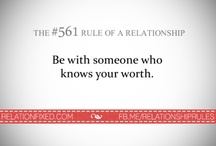 The Rule of A Relationship