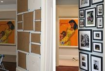 frames on wall / by Jacqueline Girouard