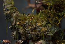Miniatures Art and Dioramas