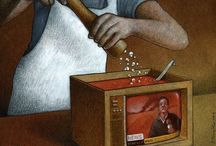 Ilustraciones-Televisión y medios