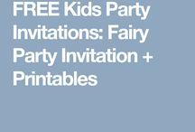 Grace fairy party