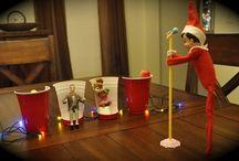 The Elf - he cracks me up!! / by Karin Davis