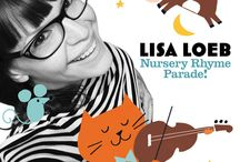 "Nursery Rhyme Parade! / Lisa partnered with Amazon to create ""Nursery Rhymes Parade!"" Pre-order here:  http://amzn.to/1LA2pKJ! / by Lisa Loeb"