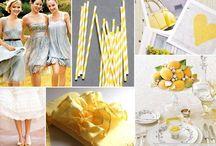 Wedding theme yellow