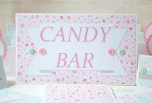 Decor for happy birthday / Ideas for decorating happy birthday party