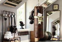 Spor odası / Spor odası