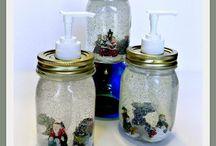 mason jar ideas / by Linda Shumaker