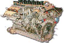 Motoren V12 ,V8 ,FL 12 ,16 ,H16 , etc.