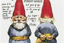 gnomes, fairies, trolls / Cute!  Everyone should have one!