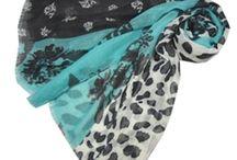 Leopard Print Design Scarves