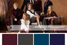 Portrait Palettes / Need a little clothing inspiration for your family portrait?  These perfect portrait palettes are sure to please!