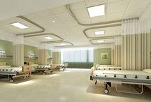 Hospital interior design (greeny)