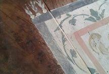 tappeti dipinti