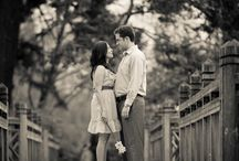 Outdoor Engagement Photos / Engagement photos... then wedding.  All at Crystal Springs Rhododendron Garden!  www.weddingsatcrystalsprings.com