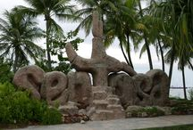 Sentosa Island, Singapore / Sentosa Island, Singapore is a 'beach resort' area in Singapore.