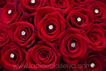Flowers & Colors: RED / Romance, Passion, Sensuality. Red wedding flowers say it all!