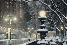 Il fascino della neve.
