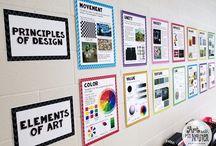 Art classroom Set-up