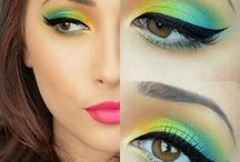 Eyes MakeUp Ideas... / Make up beauty