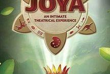 JOYA / カンクンのからすぐのリビエラマヤでしか見れないシルク・ドゥ・ソレイユのオリジナルショーの「ホヤ JOYA」☆ 「JOYA ホヤ」はスペイン語で宝石という意味 です。ぜひ宝石のように煌いた一時を満喫してください。