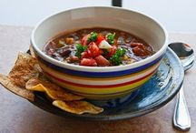 vege chili recipes / by Eileen Wolf