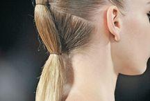 Runway ss17 hair