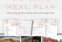 TOO EASY Meal Plan / 7 Day TOO EASY Meal Plan | Gluten Free | Diary Free | Peanut Free | Soy Free | Sugar Free