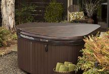 Hot tub small deck ideas