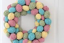 Easter crafts / by Carol Benton