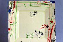 Malarstwo ceramiczne / Ceramika pięknie malowana
