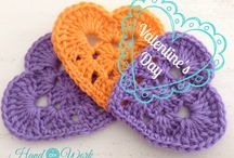 Ideas para Valentine's Day / Crochet y Valentin´s day, ideas para hacer y regalar
