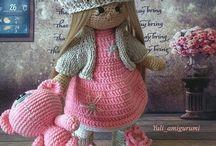 Куколки Тильда / Вязаные куколки в технике амигуруми