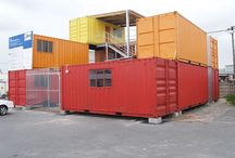 Container Create office block with veiwing deck / Container office block with viewing deck deck