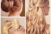 Hairstyles.
