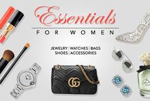 Women / Explore the widest range of jewelry, footwear, handbags & accessories exclusively for women from the most privileged brands.