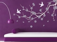 Color Combo: Purple And White